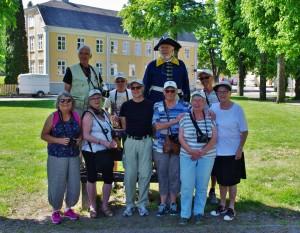 Grängesbergs Fotoklubb på stadsvandring