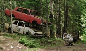 En fotoutflykt i det gröna – Båstnäs bilkyrkogård