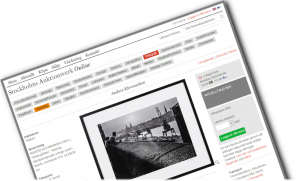 Anders Klevmarken prövar lyckan – fotografier till försäljning på online-auktion